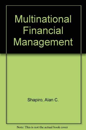 9780205076178: Multinational Financial Management