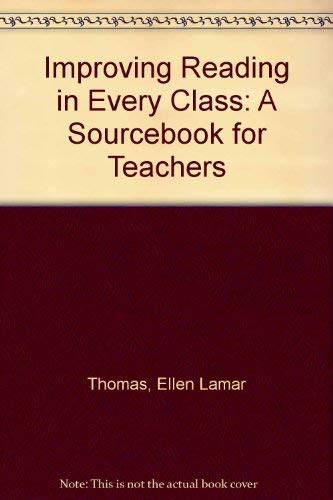 9780205077304: Improving Reading in Every Class: A Sourcebook for Teachers