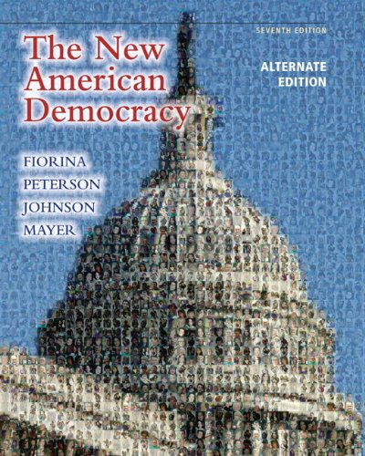 9780205078752: New American Democracy, The, Alternate Edition with MyPoliSciLab with eText -- Access Card Package (7th Edition)