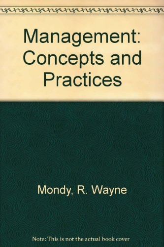 9780205078974: Management: Concepts and Practices