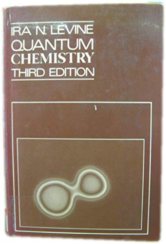 9780205079520: Quantum Chemistry (The Allyn and Bacon chemistry series)