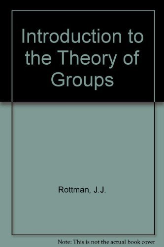 9780205079636: Introduction to the Theory of Groups