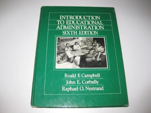9780205079834: Introduction to Educational Administration