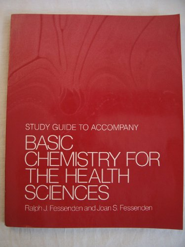 9780205080175: Basic Chemistry for the Health Sciences: Study Guide