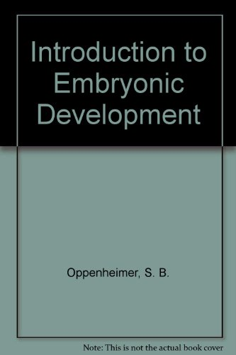 9780205080977: Introduction to Embryonic Development