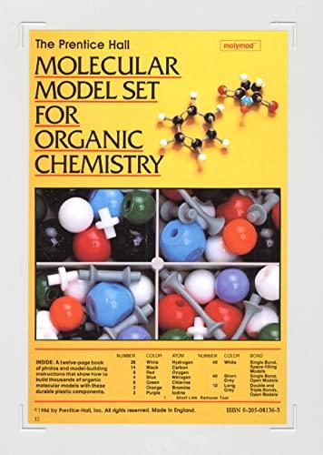 Prentice Hall Molecular Model Set For Organic: Pearson Education
