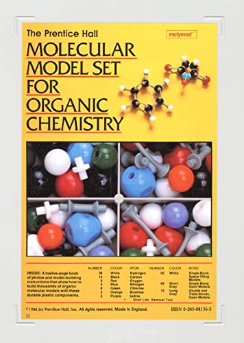 9780205081363: Prentice Hall Molecular Model Set For Organic Chemistry