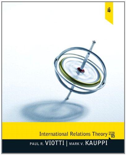 9780205082933: International Relations Theory