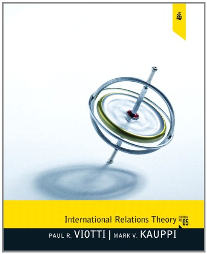 9780205082933: International Relations Theory (5th Edition)