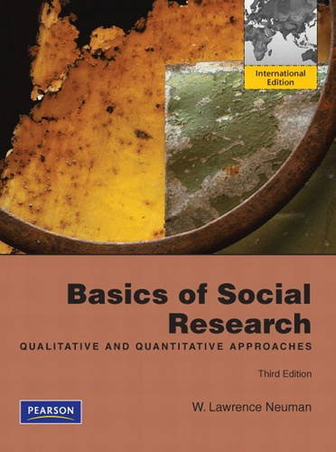 9780205085941: Basics of Social Research: Qualitative and Quantitative Approaches. by W. Lawrence Neuman