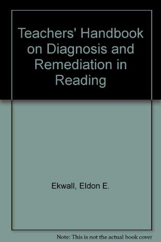 9780205085958: Teacher's Handbook on Diagnosis and Remediation in Reading