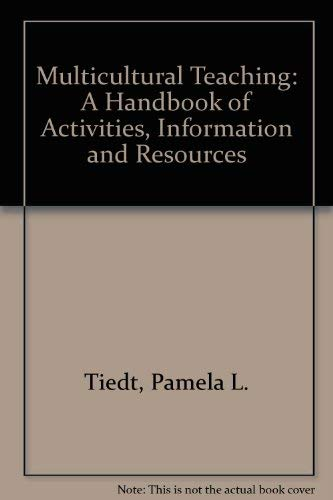 9780205085989: Multicultural Teaching: A Handbook of Activities, Information and Resources