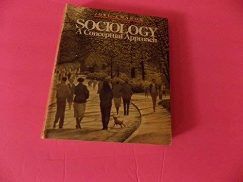 9780205086023: Sociology: A conceptual approach