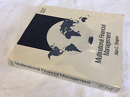 9780205086849: Multinational Financial Management