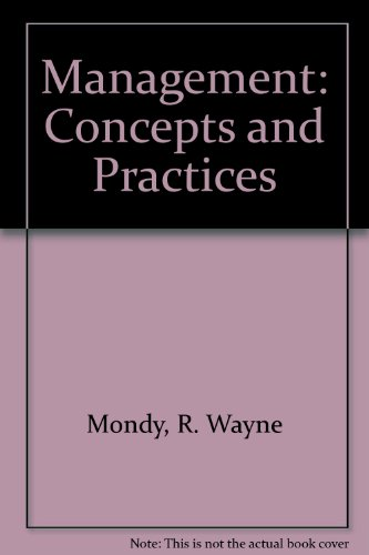 9780205086863: Management: Concepts and Practices