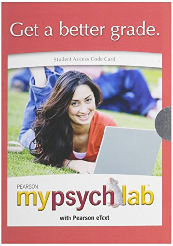 9780205087068: Psychology: The Science of Behavior, Books a la Carte Plus MyPsychLab -- Access Card Package (7th Edition)