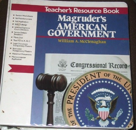 9780205087198: Magruder's American Government (Teacher's Resource Book)