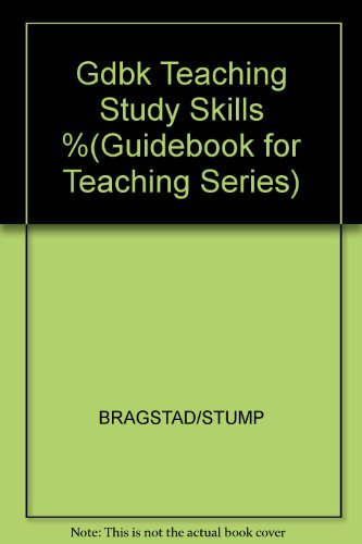 9780205088133: A Guidebook for Teaching Study Skills and Motivation (Guidebook for Teaching Series)