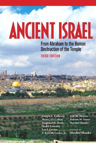 9780205096435: Ancient Israel: From Abraham to the Roman Destruction of the Temple, 3rd Edition