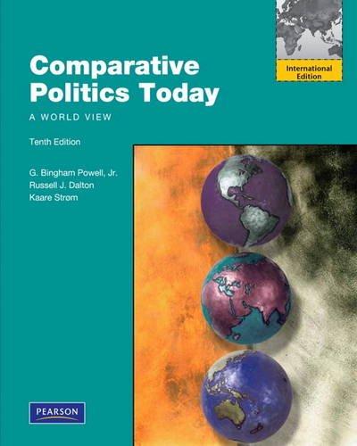 9780205097517: Comparative Politics Today: A World View.