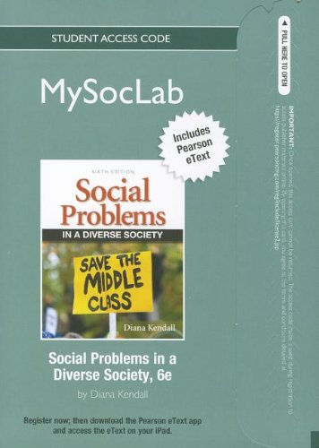 9780205097753: NEW MySocLab with Pearson eText -- Standalone Access Card -- for Social Problems (6th Edition) (Mysoclab (Access Codes))