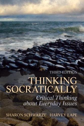 9780205098019: Thinking Socratically (3rd Edition)