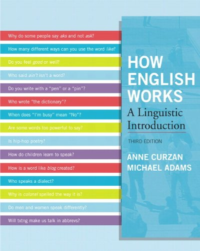 9780205098767: How English Works: A Linguistic Introduction Plus MySearchLab -- Access Card Package (3rd Edition)