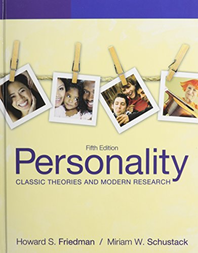 9780205098972: Personality: Classic Theories and Modern Research with MyPsychKit (5th Edition)
