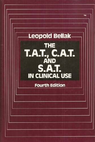 9780205100675: The T.A.T., C.A.T. and S.A.T. in Clinical Use, 4th Edition