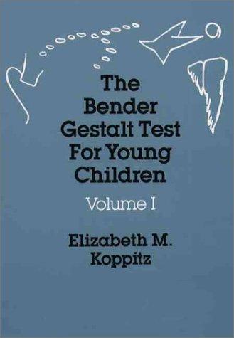9780205101320: Bender Gestalt Test for Young Children (Vol. 1)