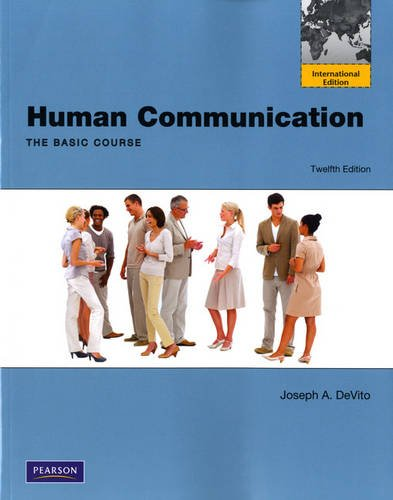 9780205101948: Human Communication: The Basic Course