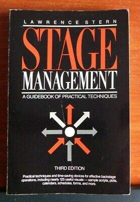 9780205102877: Stage Management: A Guidebook of Practical Techniques