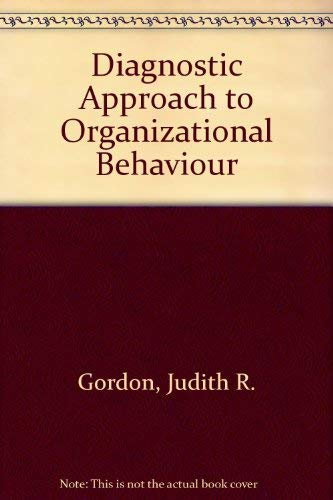 9780205103102: Diagnostic Approach to Organizational Behaviour