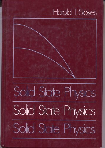 9780205105083: Solid State Physics