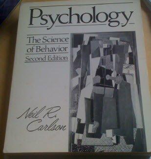 9780205105519: Psychology: The Science of Behavior