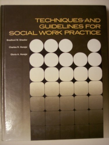 9780205105830: Techniques and Guidelines for Social Work Practice