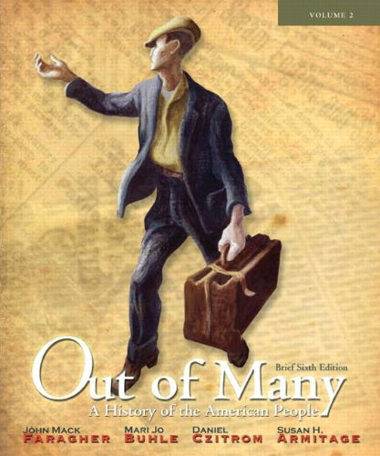 9780205108718: Out of Many: A History of the American People, Brief Edition, Volume 2 (Chapters 17-31) Plus NEW MyLab History with eText -- Access Card Package (6th Edition)