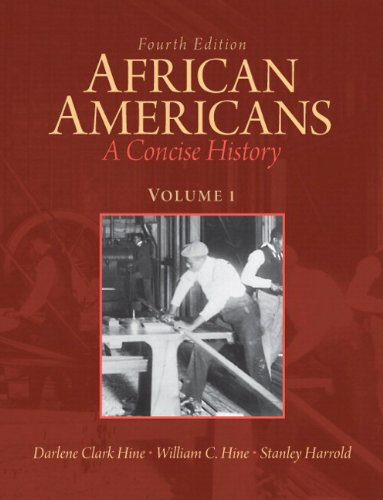 9780205108879: African Americans: A Concise History, Volume 1 Plus NEW MyHistoryLab with eText -- Access Card Package (4th Edition)