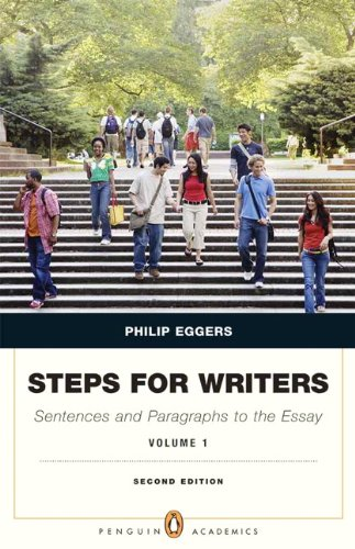 9780205110438: Steps for Writers: Sentence and Paragraph to the Essay, Volume 1 (2nd Edition) (Penguin Academics)