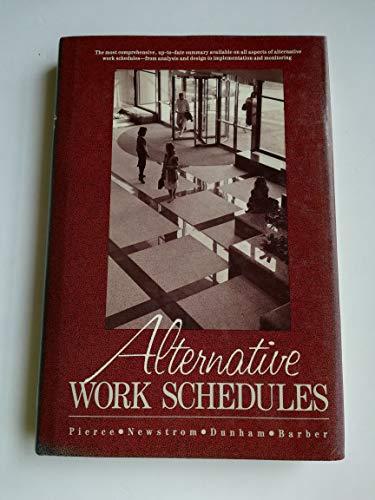 Beispielbild für Alternative Work Schedules zum Verkauf von Better World Books Ltd