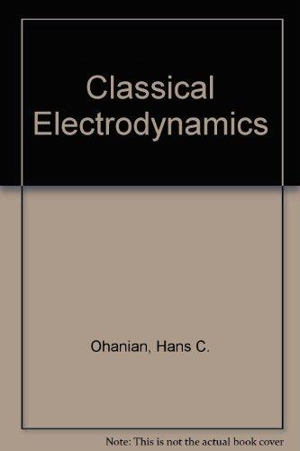 9780205113033: Classical Electrodynamics