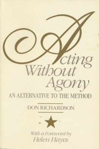 9780205113507: Acting without Agony: An Alternative to the Method