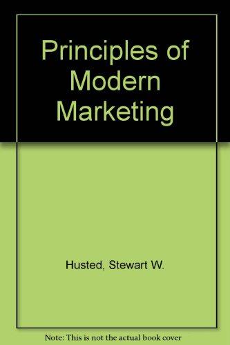 9780205115754: Principles of Modern Marketing