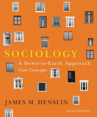 9780205116409: Sociology: A Down-to-Earth Approach, Core Concepts (5th Edition)