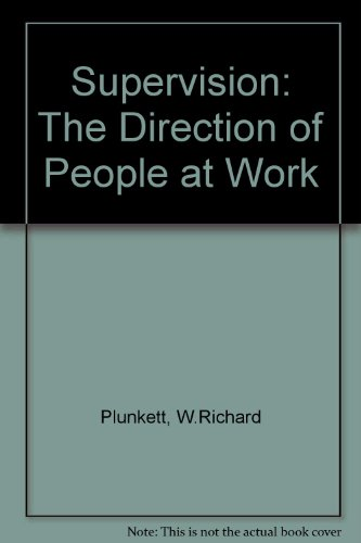 9780205117314: Supervision: The Direction of People at Work