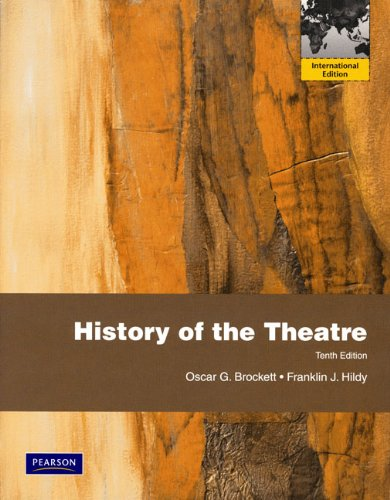 9780205117574: History of the Theatre