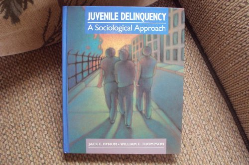 9780205117741: Juvenile Delinquency: A Sociological Approach