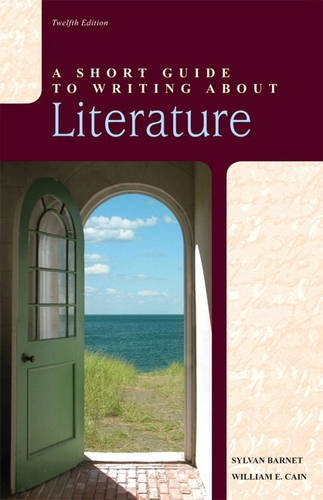 9780205118458: A Short Guide to Writing about Literature (12th Edition)