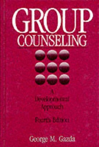 9780205119851: Group Counseling: A Developmental Approach
