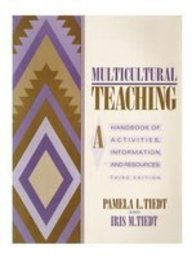 9780205122141: Multicultural Teaching: A Handbook of Activities, Information and Resources
